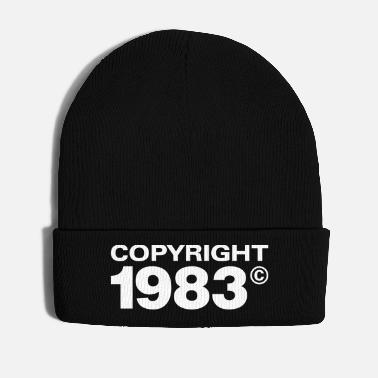 Eighty Copyright 1983 - Winter Hat