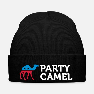 Mascot Political Party Animals: Camel - Winter Hat