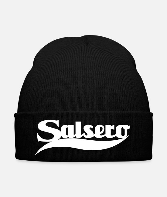 Congress Caps & Hats - Salsero - Salsa Dance Shirt - Winter Hat black