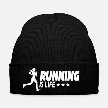 Training running is life female ii 1c - Bonnet d'hiver