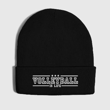volleyball is life deluxe - Cappellino invernale