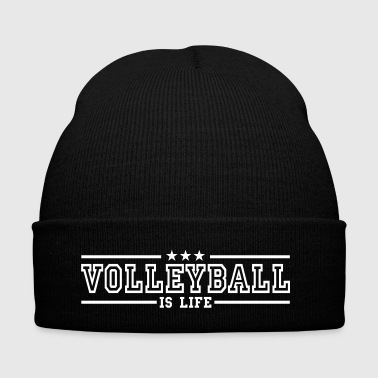 volleyball is life deluxe - Bonnet d'hiver