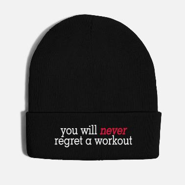 Health you will never regret a workout 2c - Wintermütze