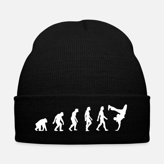 Street Dance Caps & Hats - The Evolution Of Breakdancing - Winter Hat black