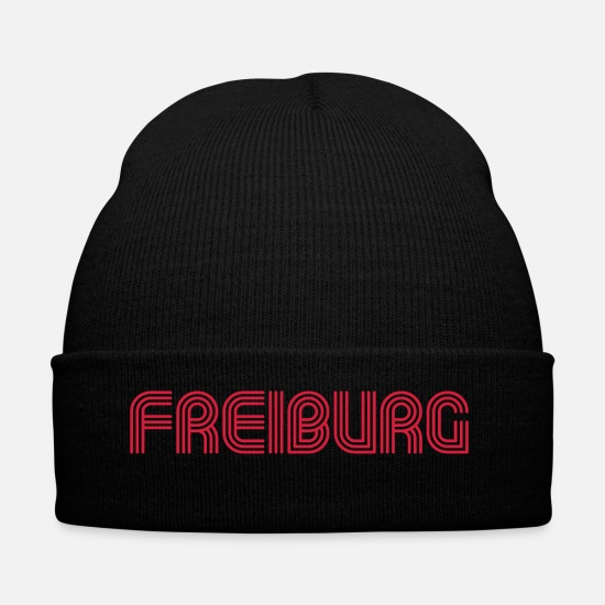 Freiburg Caps & Hats - Freiburg 70 Font Lounge - Winter Hat black