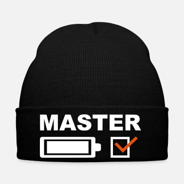 Master Graduated from college and master in the bag - Winter Hat