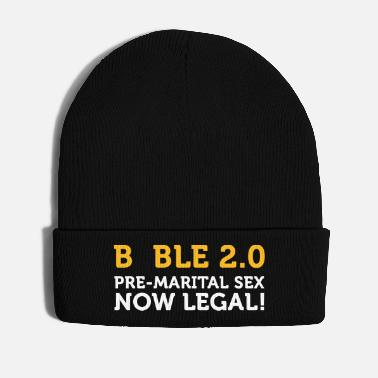 Bible Bible 2.0: Premarital Sex Now Legal! - Winter Hat