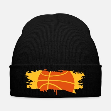 Pinceau Graffiti de basket-ball  - Bonnet d'hiver