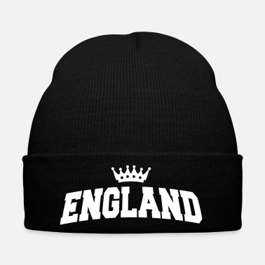 Fan england with crown - Winter Hat