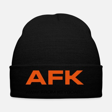 Afk AFK Away from keyboard Computer games Game over! - Winter Hat