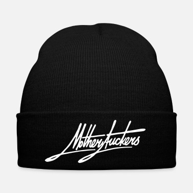 Provocation Motherfuckers calligraphy - Winter Hat