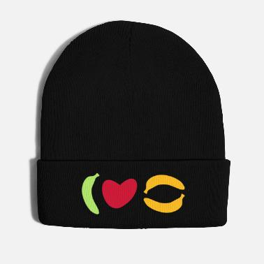 Crook ★ Design colors changeable ★ I love bananas - Winter Hat