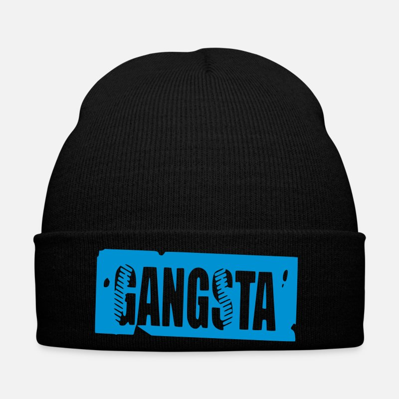 Gangster Caps & Hats - gangsta - Winter Hat black