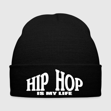 hip hop is my life - Bonnet d'hiver