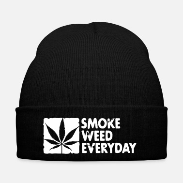 Cannabis smoke weed everyday boxed - Bonnet d'hiver