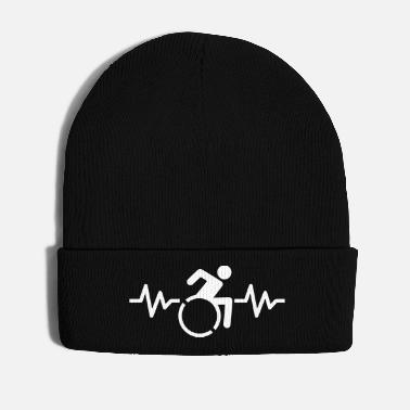 Hits Wheelchair hit heartbeat - Winter Hat