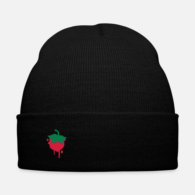 Bonnet d hiver Fraise à commander en ligne   Spreadshirt 320ab24ba23