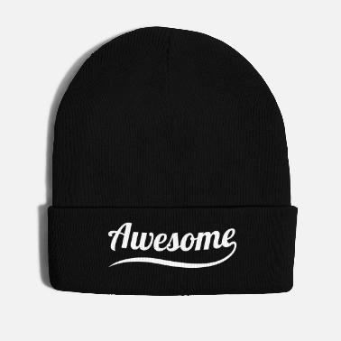 Fantastic fantastic great think positive life beautiful - Winter Hat