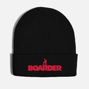 Boarders Boarder Snowboard (Red) - Winter Hat