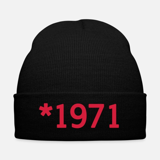 Birthday Caps & Hats - 1971 - Winter Hat black