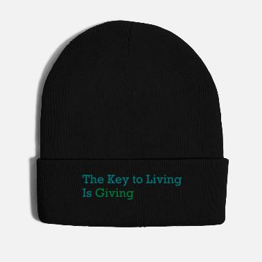 Inspiration key to living is giving - Vinterhue