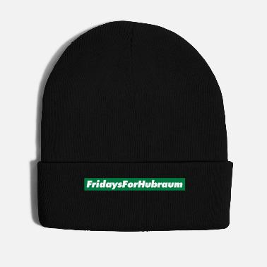 Demo Fridays for Hubraum Logo Spruch Future Anti Demo - Winter Hat