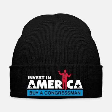 Justice Invest In America. Buy A Congressman! - Winter Hat 5d61703cb18