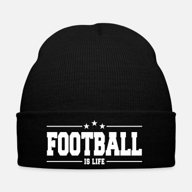 Football Americano football is life 1 - Cappellino invernale