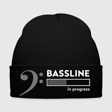 bassist shirt, Bassline in progress - Winter Hat