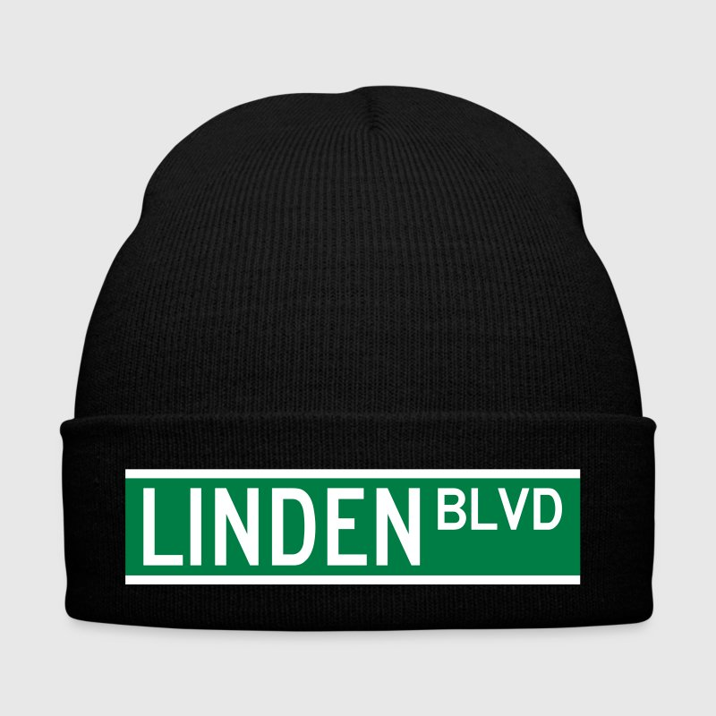 LINDEN BLVD SIGN - Winter Hat