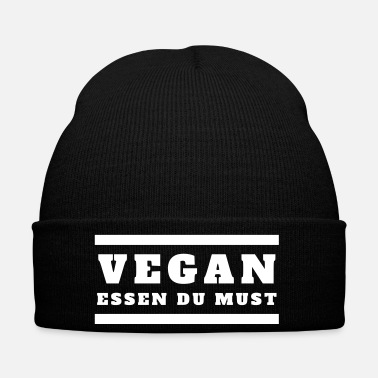 Bless You you have to eat vegan food - Winter Hat