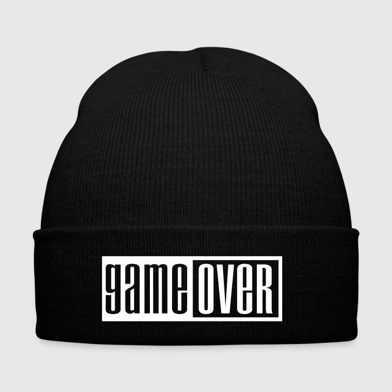 game over outline - Bonnet d'hiver
