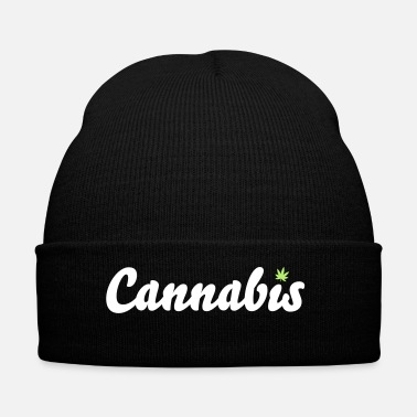 Cannabis Cannabis belettering - Wintermuts