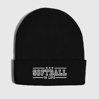 softball is life deluxe - Bonnet d'hiver