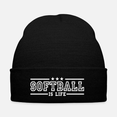 Softball softball is life deluxe - Bonnet d'hiver