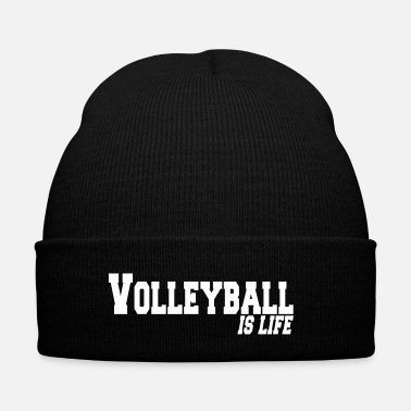 Beachvolley volleyball is life - Bonnet d'hiver