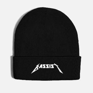 Bass Player Bass player metal lica rock logo font bass player - Winter Hat