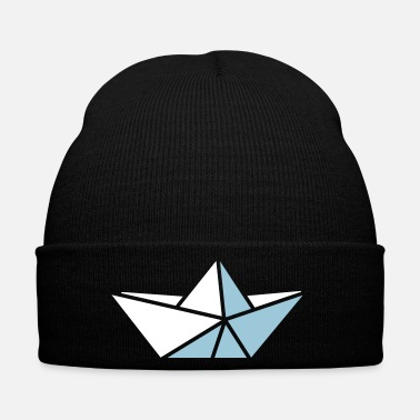 Boat paper boat - Winter Hat