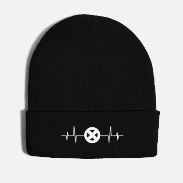 Geek Heartbeat Superhero Comic Comics Men X Gift - Gorro de invierno
