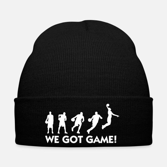 Slam Dunk Caps & Hats - The Evolution Of Basketball - Winter Hat black