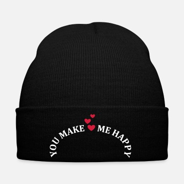 Romantic You make me happy Love in love Romantic - Winter Hat
