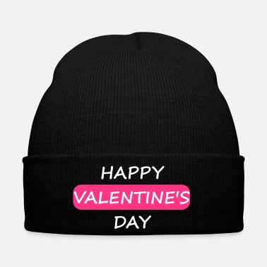 Valentines Day Happy Valentines Day Shirt as a love gift - Winter Hat