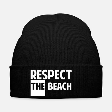 Touriste Respect the beach - Bonnet
