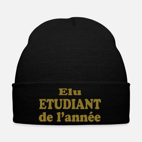 Professor Caps & Hats - Elu étudiant de l'année - Winter Hat black