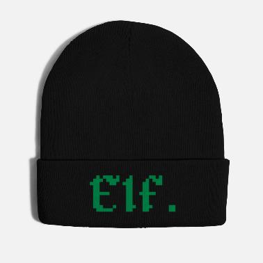 Elf 8 Bit Elf Gamer - Winter Hat