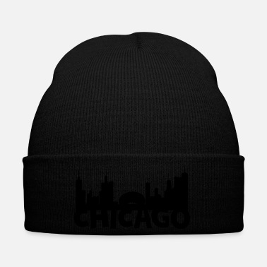 Chicago horizon de Chicago - Bonnet d'hiver