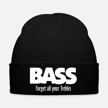 Bassista BASS forget all your Trebles - Cappellino invernale