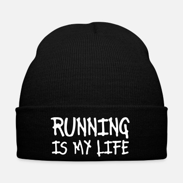 Training running is my life - Bonnet d'hiver