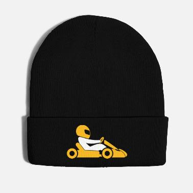 Minimum A Racer With Helmet And Car - Winter Hat