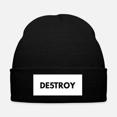 Destroyed Destroy DESTROY - Winter Hat 992a1baf2aa2
